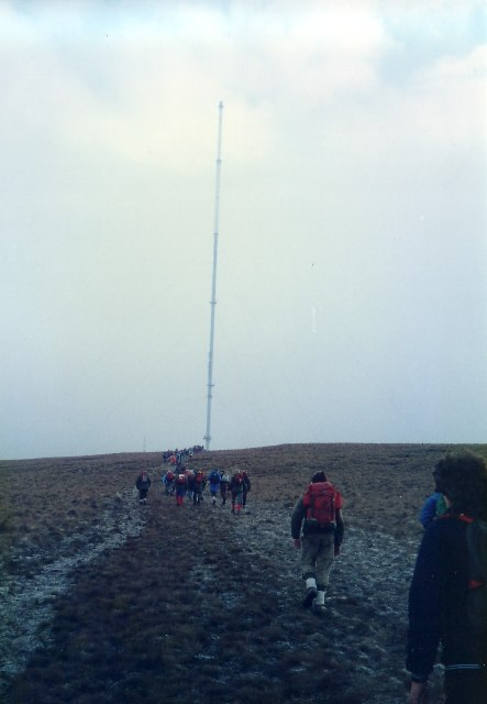 Winter Hill Mast