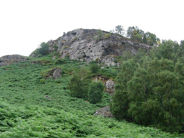 Glenmarksie Crag