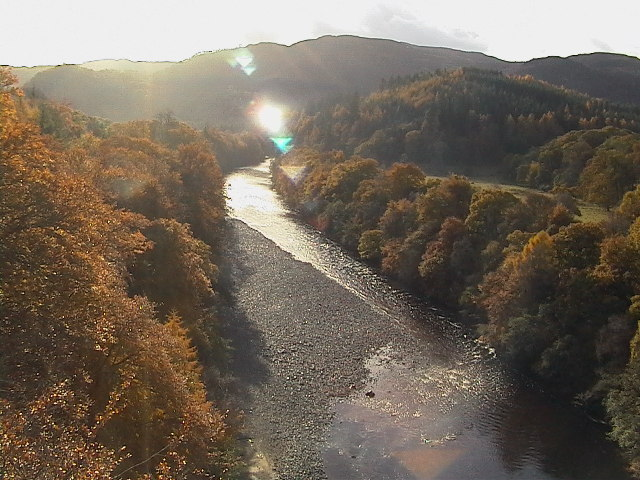 River Garry from Garry Bridge