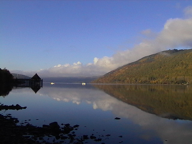 Croft-na-Caber and Loch Tay