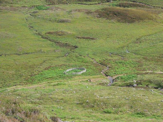 Sheepfank, Gleann Marcasaidh.