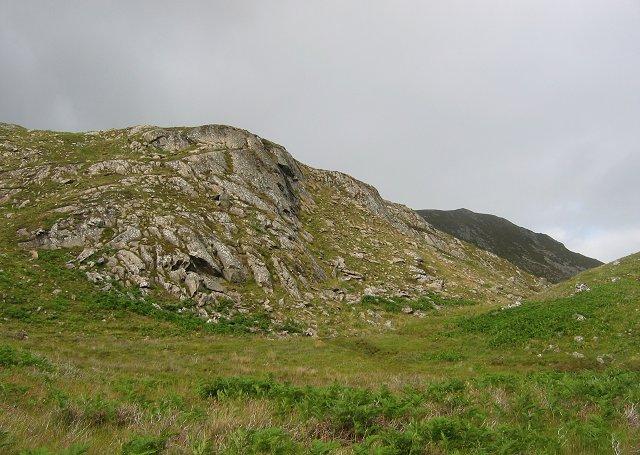 Crag, Gleann Marcasaidh.