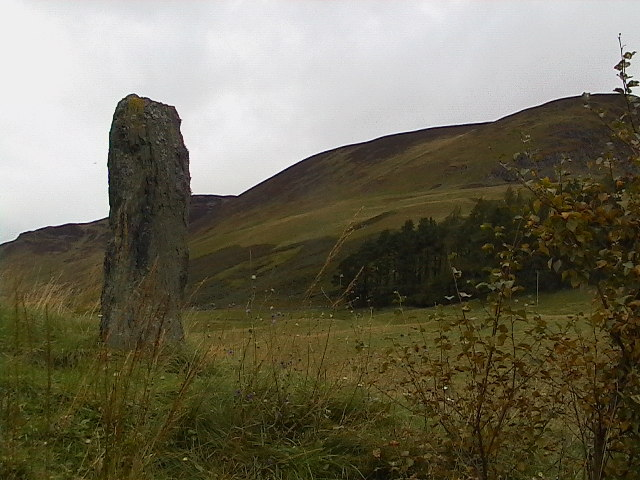 Standing stone at Spittal of Glenshee 2