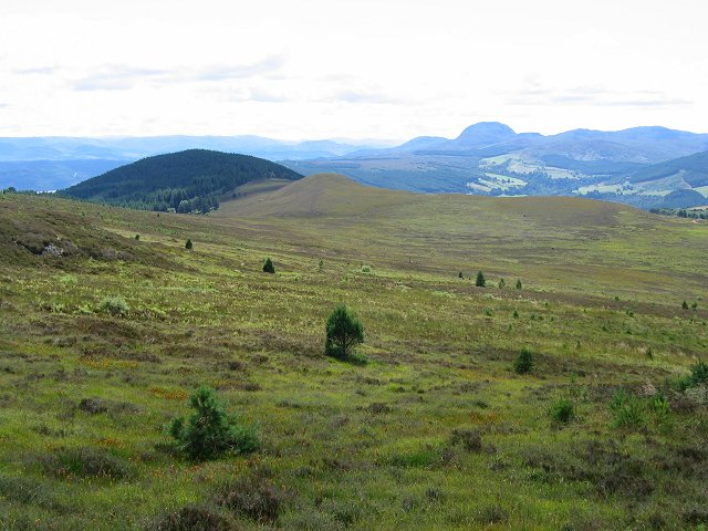 Southern slopes of Meall na h-Eilrig.