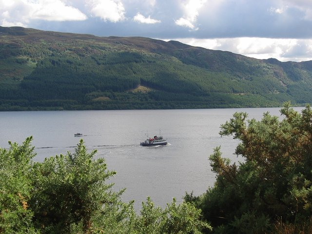 Boat tour, Loch Ness.