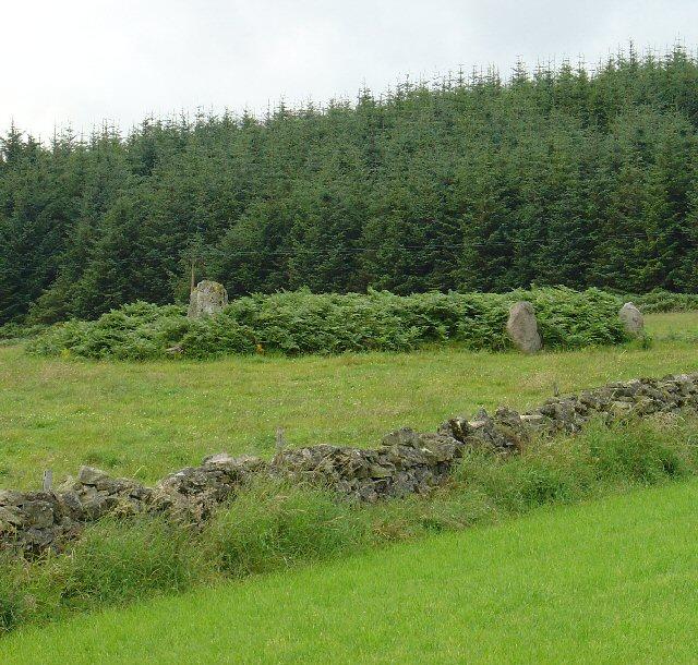 Stone Circle Near West Mulloch Farm, Near Banchory