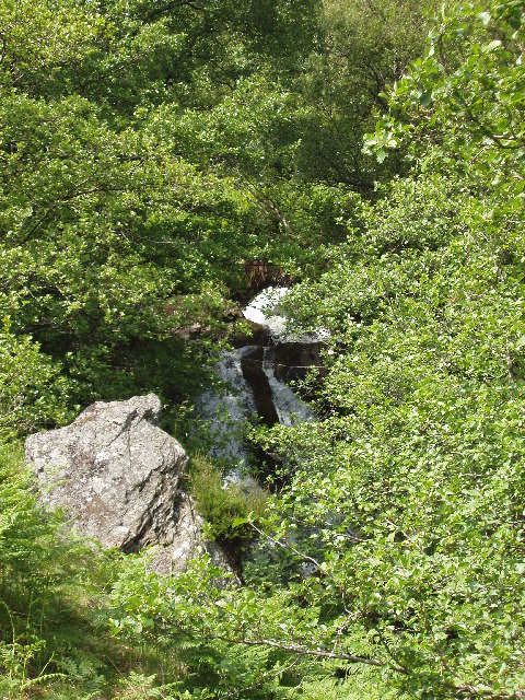 Waterfall on Henzie Burn