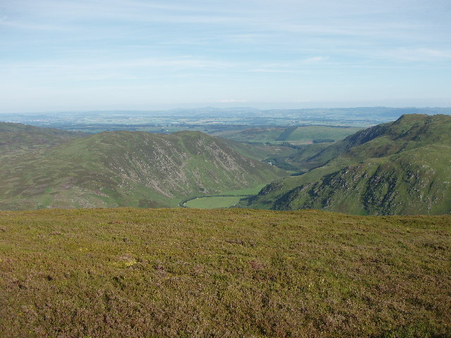 View down Sma' Glen from Meall Reamhar