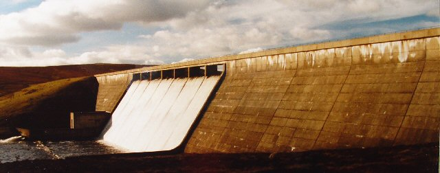 Cow Green Reservoir Dam