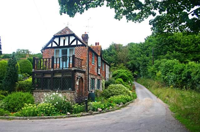 Old cottages in Westdean