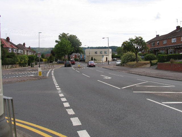 Hales, Hewlett, Priors Road and Harp Hill Junction