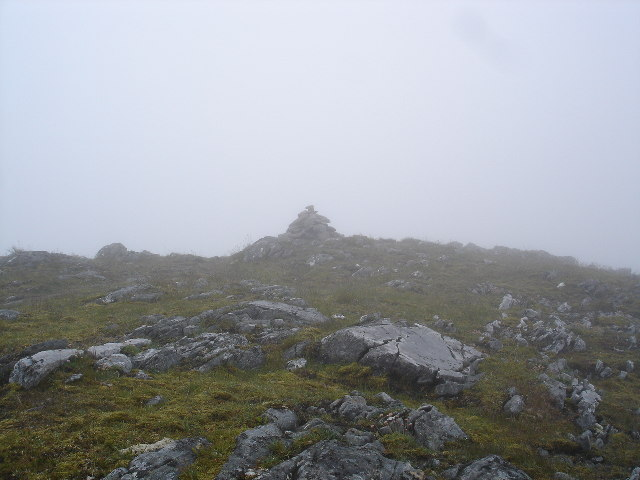 Summit of Mullach na Dheiragain