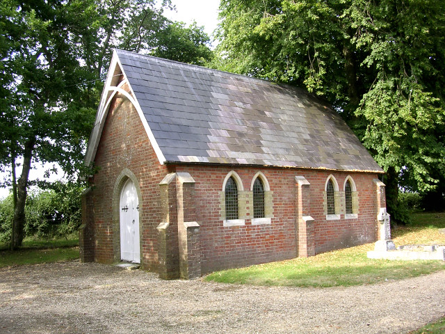 Chapel at Beaulieu Cemetery, New Forest
