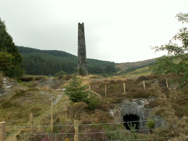 Chimney, Cwmsymlog Mine
