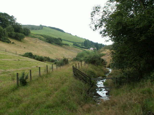 Nant Silo near Cwmerfyn
