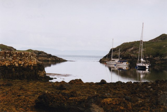 Moorings at Roghadal