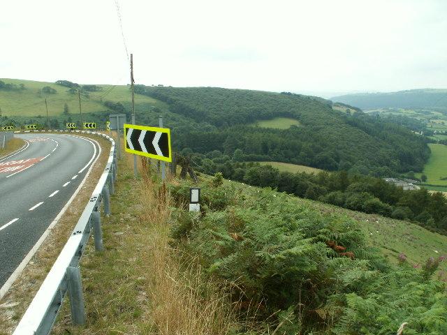 A44, near Cwmbrwyno