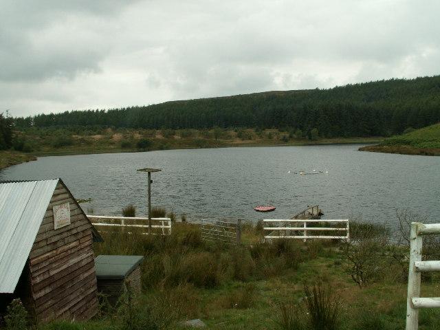 Llywernog Pond, Bwlch Nant-yr-Arian