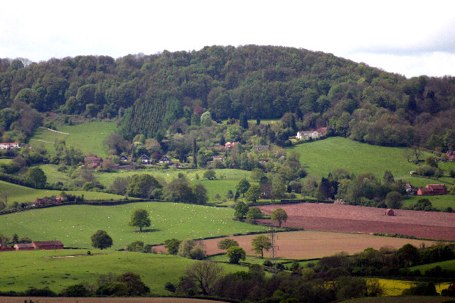 Abberley Hill from Heightington