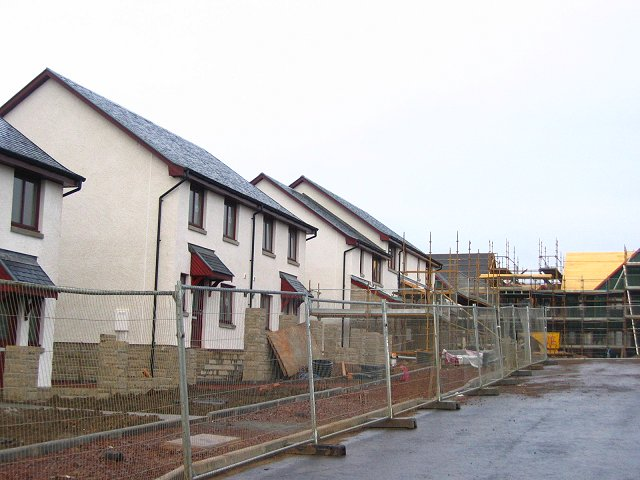 New houses, Dalkeith.