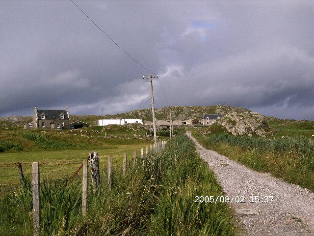 Crofting on Iona - Black's Farm