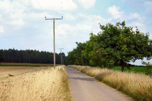 Track to Heath Farm