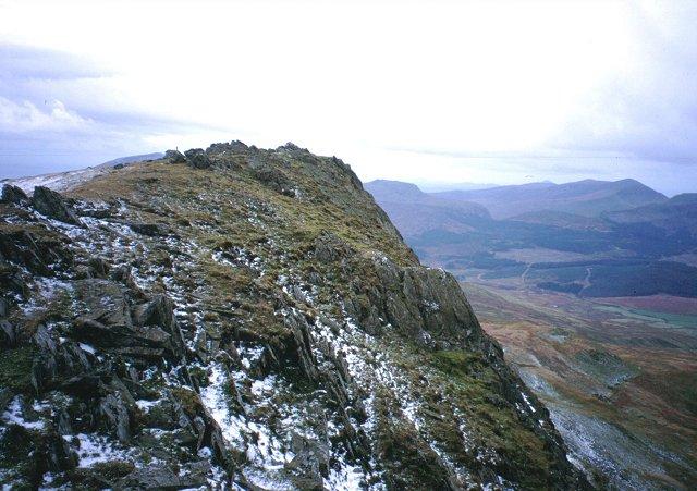 Summit, Yr Aran