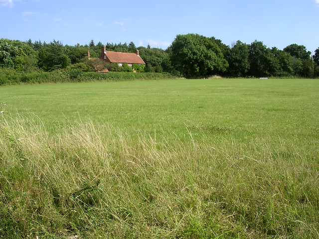 Field and cottage near Hides Hill Lane, Beaulieu, New Forest