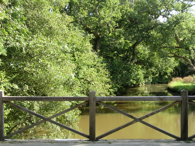Beaulieu River at Hartford Bridge, Beaulieu, New Forest