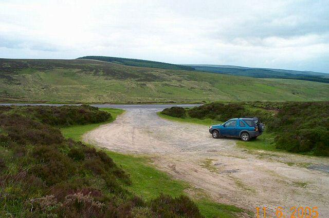 Roadside carpark - Dartmoor