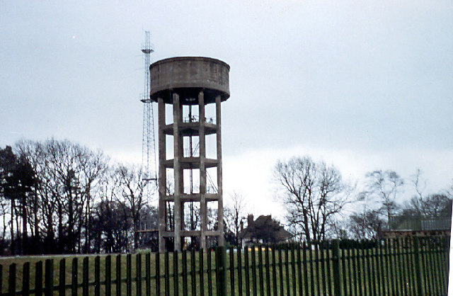 Water Tower, Berry Hill, Mansfield