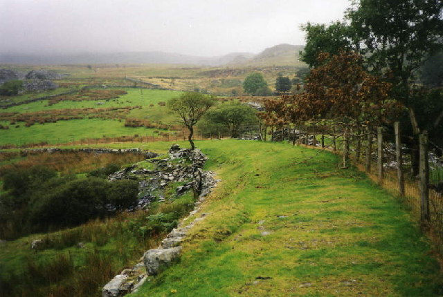 Welsh Highland Railway: Ffridd Isaf curve