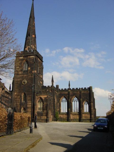 St Mary's church, Birkenhead Priory