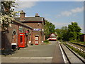 SJ3377 : Hadlow Road Station, Willaston. by Sue Adair