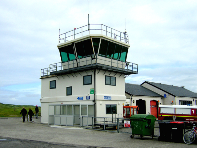 Control Tower at Barra Airport