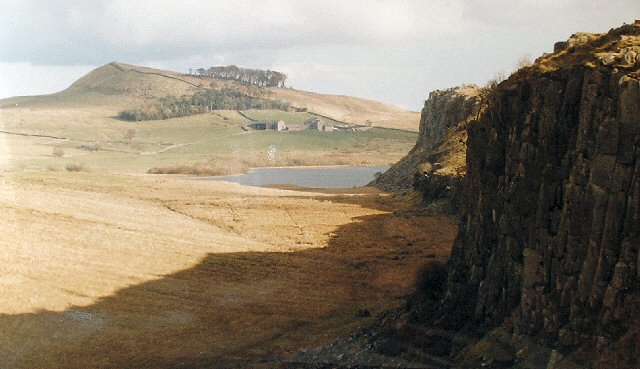 Crags on N side of Steel Rigg, Near Twice Brewed