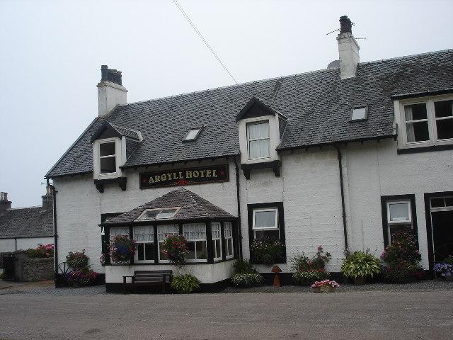 Argyll Hotel Bellochantuy, Kintyre