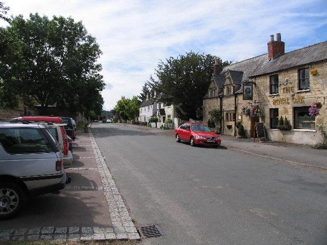 The Burgage and Royal Oak, Prestbury
