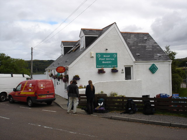 Poolewe Shop and Post Office