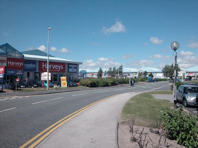 Retail Park Chester