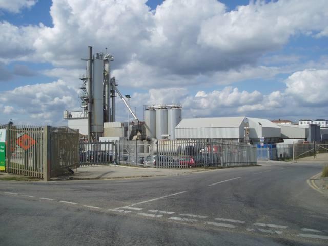 Asphalt Plant at Shoreham Harbour
