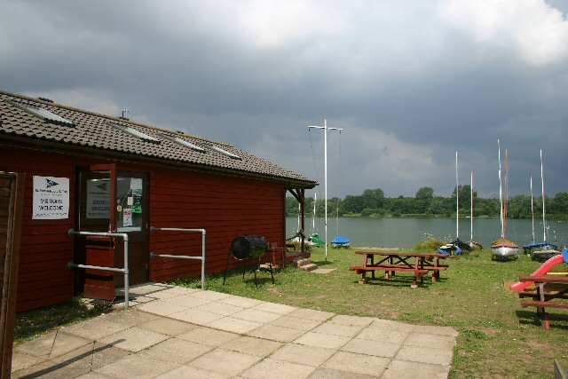 Sailing clubhouse at Lackford
