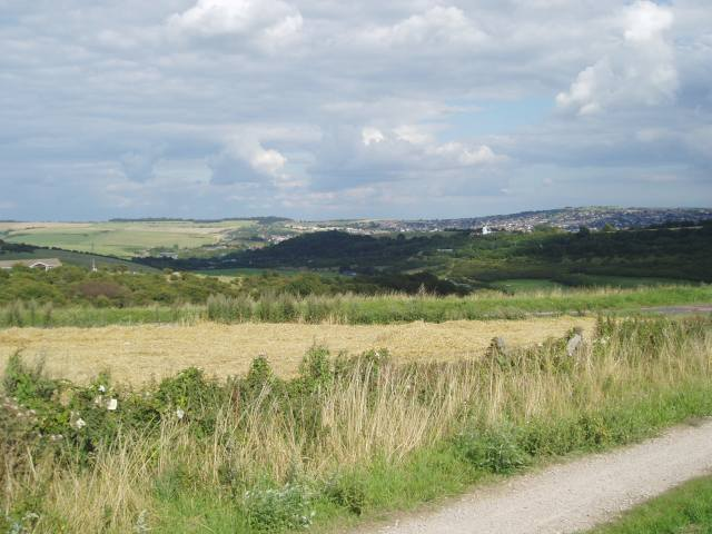 View from first car park on Devil's Dyke Road