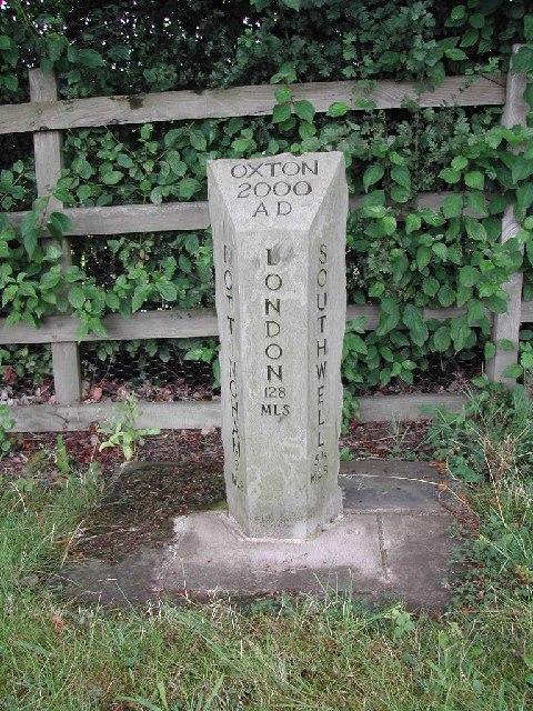 Millennium Mile Stone