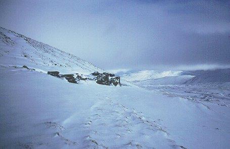 Old mine, Meall nan Oighreag