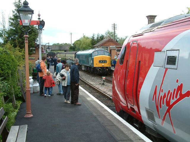 Williton Station on the West Somerset Railway