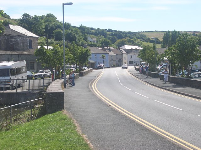 Street scene in Millbrook village