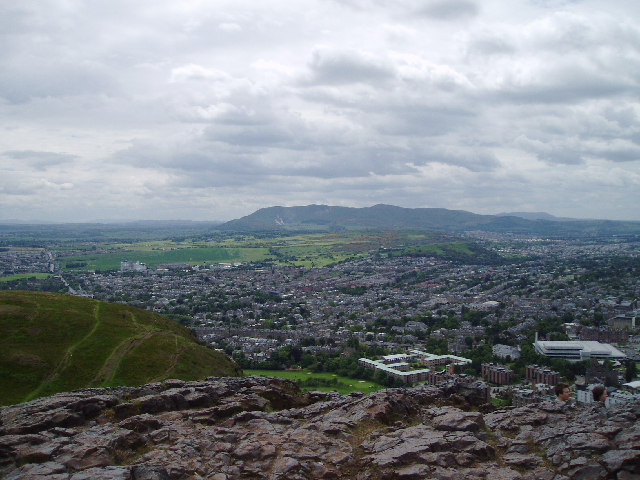 View south from Arthurs seat