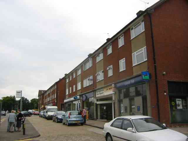 Shopping Parade in The Ridgeway, Marshalswick