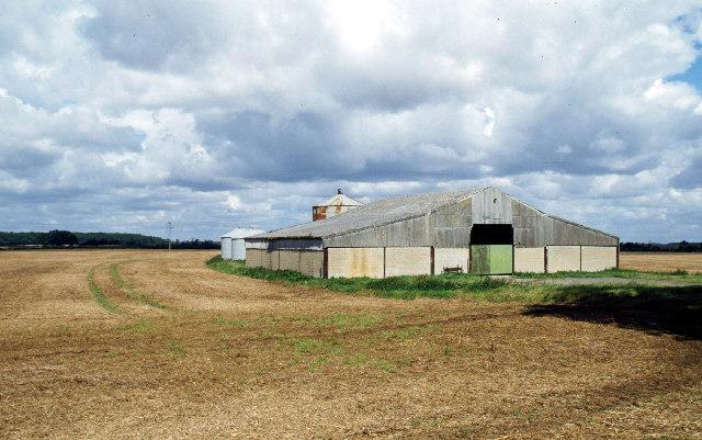 Farmland north of Market Overton